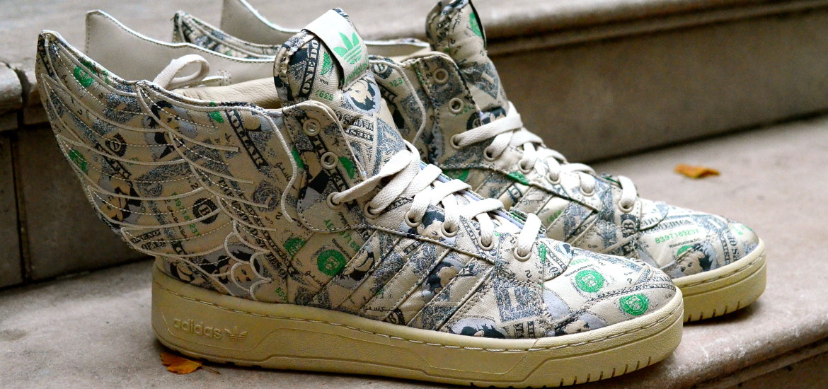 money shoes